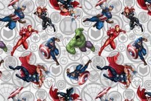 Pilucaps - Tela Avengers